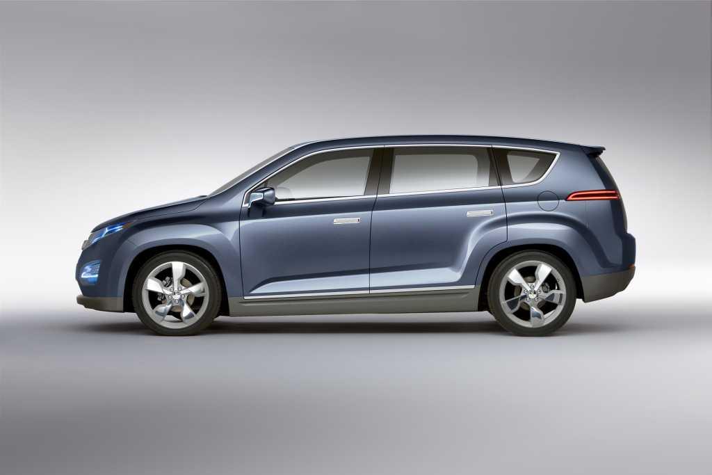 Chevrolet Volt Mpv5 Concept Samochody I Motoryzacja Info